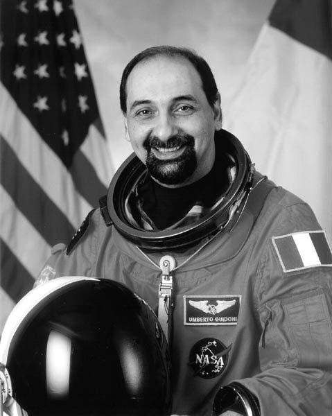 Astronaut Umberto Guidoni